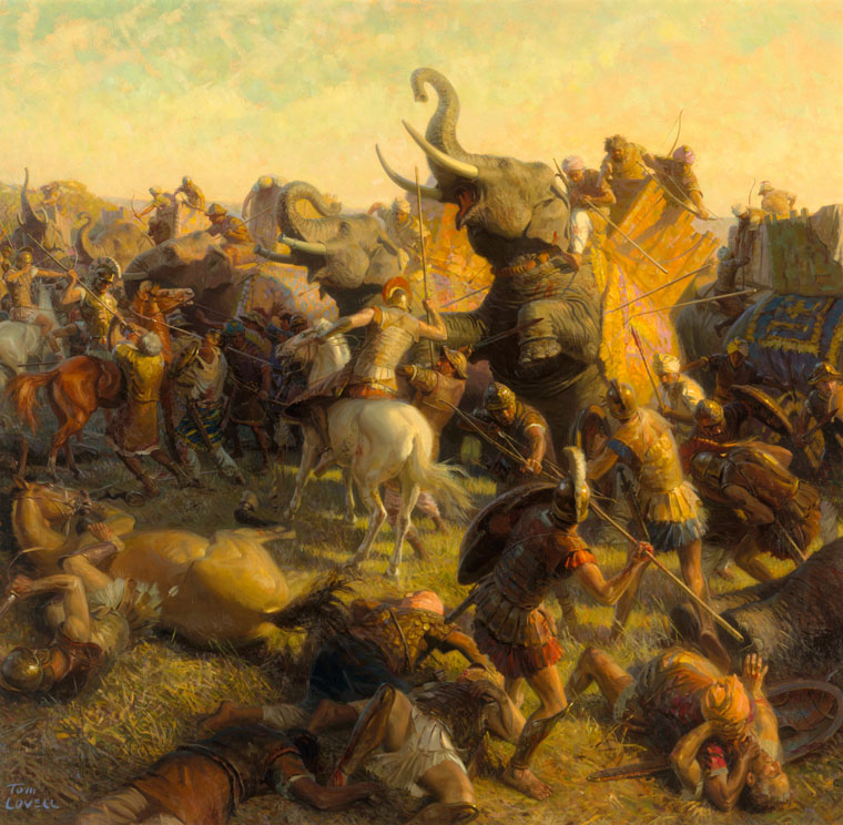 Menander's march to Pataliputra