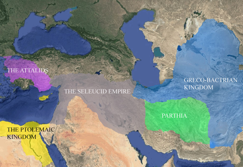 Hellenistic Asia 185 BC: