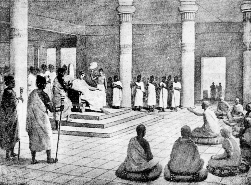 Menander and Buddhism