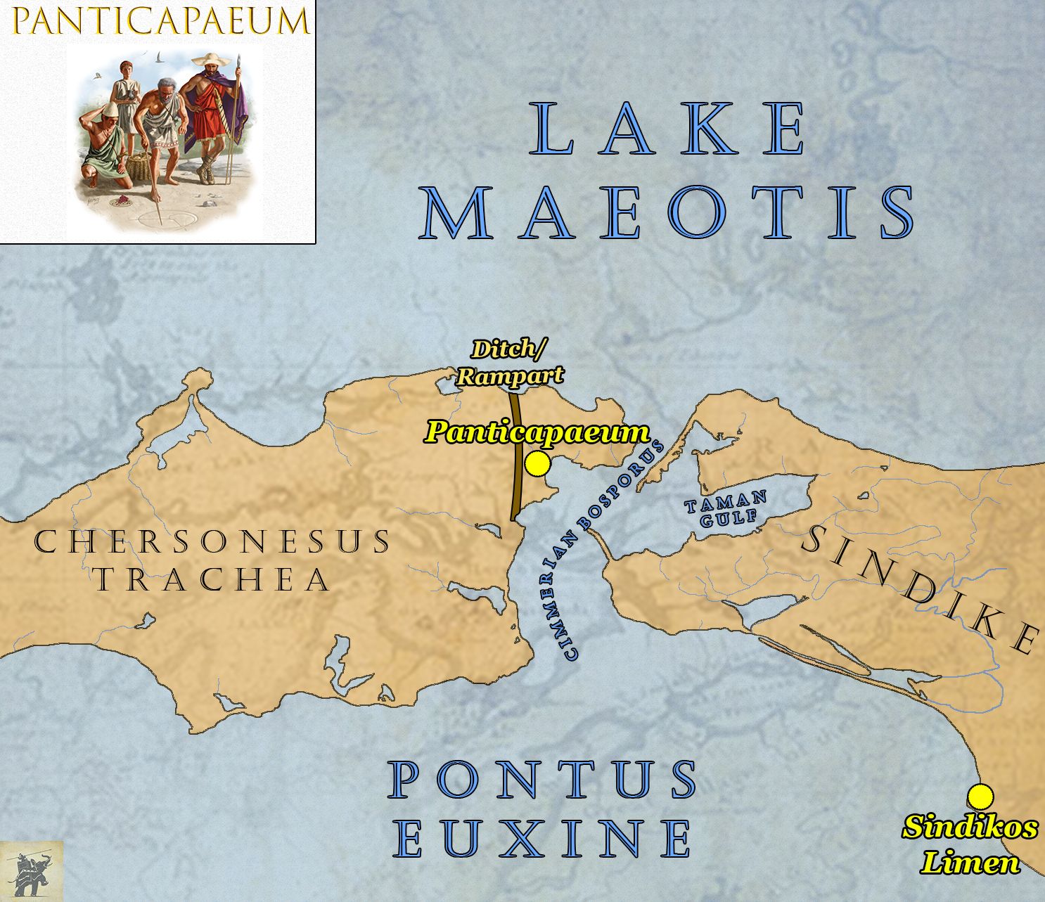 How the Bosporan Kingdom Became the Jewel of the Black Sea Kingdom Of Pontus Map on byzantine empire map, alexander the great map, ptolemaic kingdom map,
